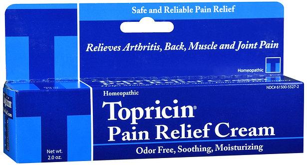 Topricin Pain Relief Cream - 2OZ