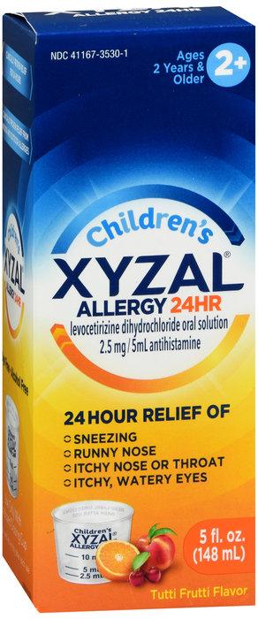 Children's Xyzal Allergy 24HR Solution - 5oz