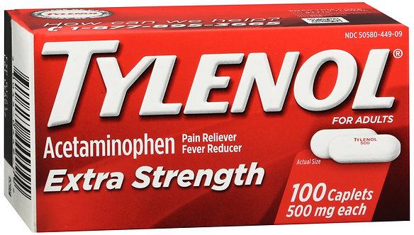 Tylenol Extra Strength - 100 Tablets