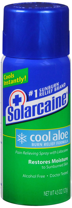 SOLARCAINE COOL ALOE VERA SPRAY - 133 ML