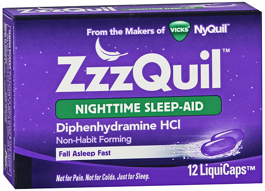 ZzzQuil LiquiCaps - 12 Count