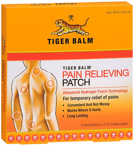 TIGER BALM REGULAR PATCH - 5 Count