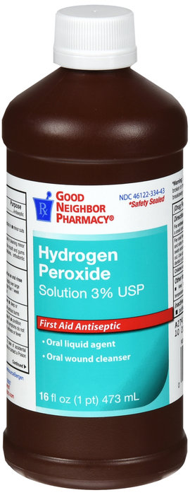 Hydrogen Peroxide 3% Solution - 16oz