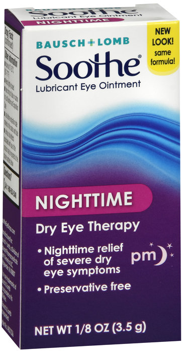 SOOTHE NIGHT TIME DRY EYE OINTMENT - 3.5GM