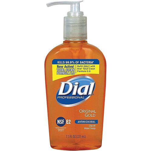 Dial Antibacterial Liquid Soap -  7.5 oz Pump Bottle