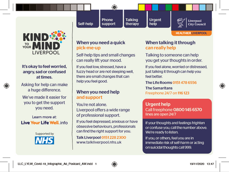 Mental Health Services Postcard