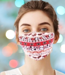 Reusable & Washable Fabric Mask with Adjustable Earloop (Nomadic)