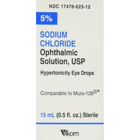 SODIUM CHLORIDE 5% EYE DROPS - 15ML
