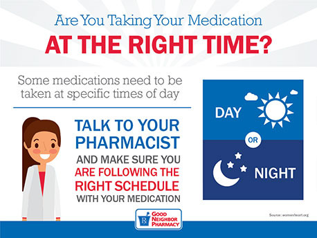 Are You Taking Your Medications At The Right Time?