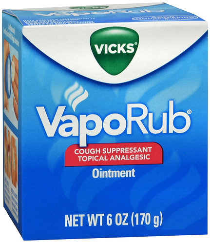 VAPORUB JAR 6OZ