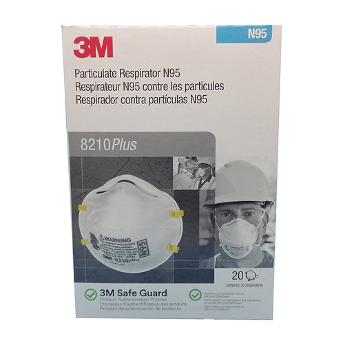 NIOSH N95 Mask (20 Masks)