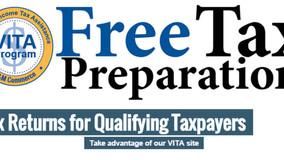 VITA Free Tax Preparation