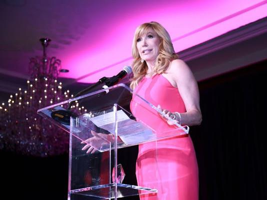 That Time When TV Personality Leeza Gibbons Spoke at one of our Event Productions
