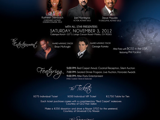 Hollywood's Hottest Stars + Philanthropists to Attend ACT Today!'s 7th Annual Denim & Diamonds Event