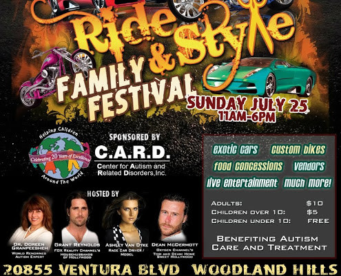 World Leading Autism Organization to Host Ride + Style Family Festival in Southern California, July