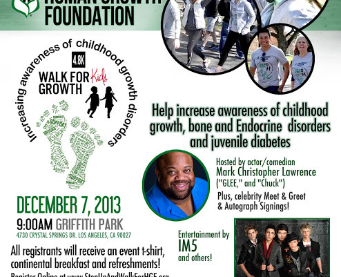 """D. Plump Consulting to Produce """"Walk for Kids Growth"""" Dec 7th, in Los Angeles"""
