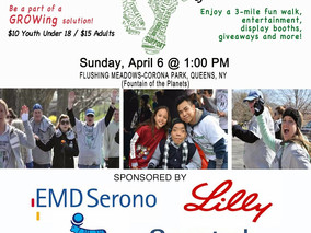 D. PLUMP CONSULTING Proudly Produces Walk for Kids Growth, April 6, NY