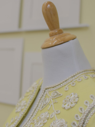 Deanna Dusbabek Photography dress detail.
