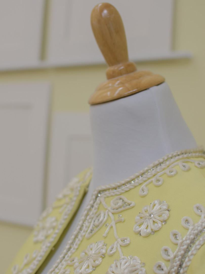 Dress form close-up