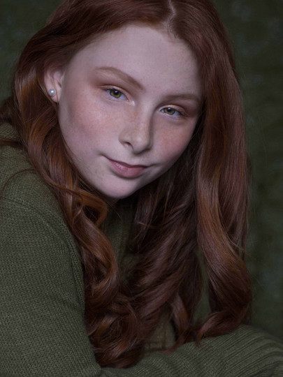 Actress headshot Deanna Dusbabek Photography