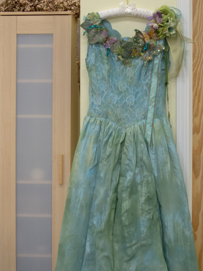 Deanna Dusbabek Photography handcrafted dress for sessions.
