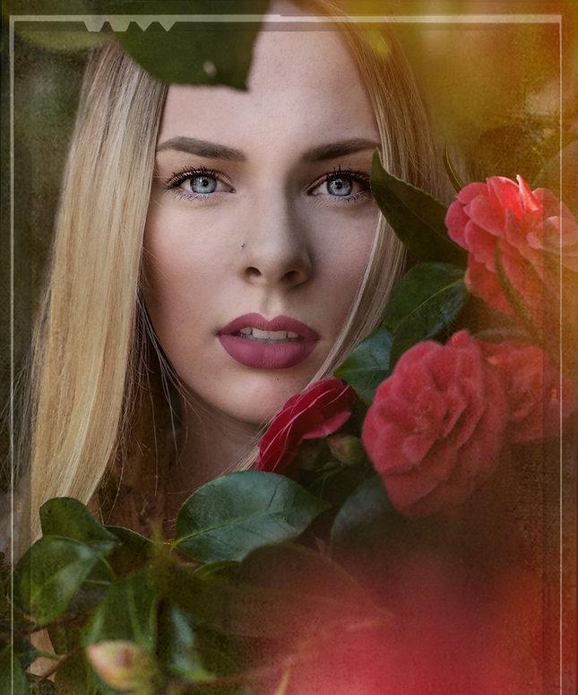 Deanna Dusbabek Photography flower portrait