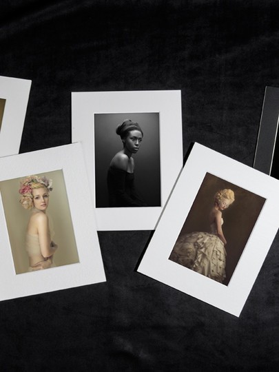 Sample image of fine art matted prints from Graphi Studio, photo courtesy of Graphi Studio.