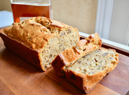 Brown Butter Bourbon Banana Bread, Happiness Boundaries, Harry Belafonte, Beethoven, & Queen