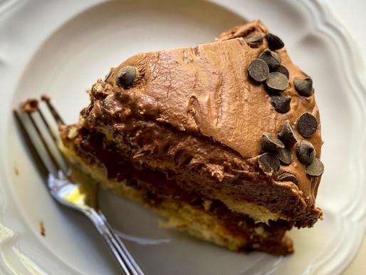 Yellow Cake with Chocolate Frosting, Having Your Cake & Eating it, Too, Oprah, Zendaya, Air & Ravel