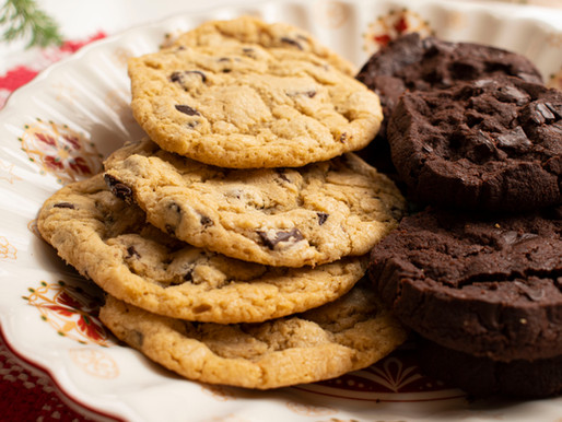 How I survived the Holidays (YES!)… with Santa's Chocolate Chip & World Peace Cookies