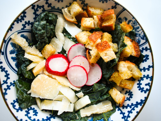 Tuscan Kale Salad with Fennel, Radish & Ricotta Salata, Hump Day, Fear & The Science of Serendipity