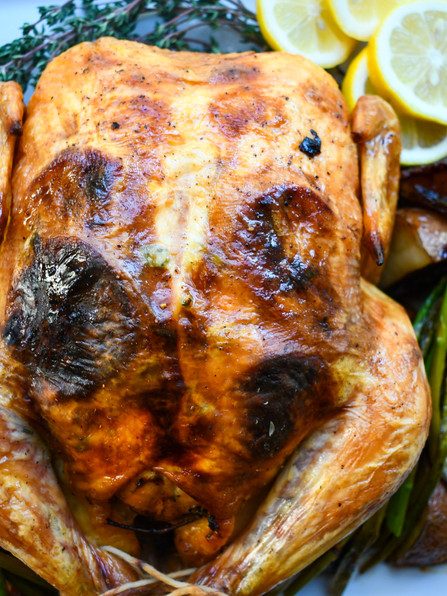 Lemon Thyme Chicken, Ben Franklin, Our Nation's 1st Celebrity, Copland, Eilish, Rosalía & Sinatra