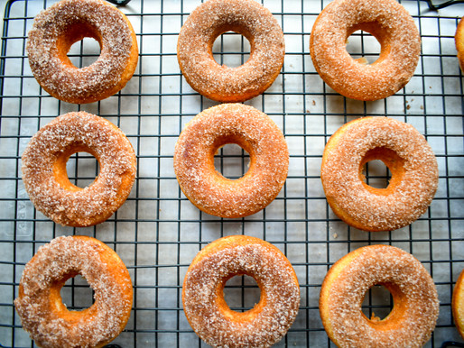 Cinnamon Baked Donuts, More Gnome Culture, Stirling, Bethanis & Respighi