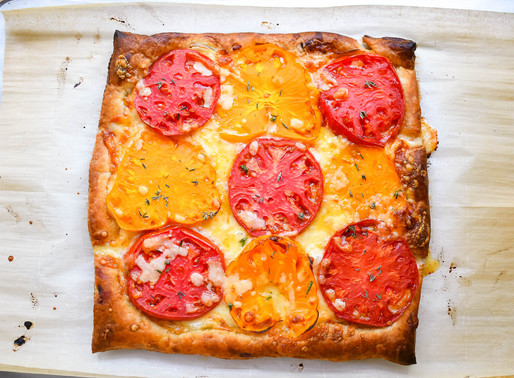 Heirloom Tomato Tart, Tomato Throwing & Why Are We Attracted to Deviant Personalities?