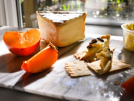 Fancy Crackers w/Black Truffle Butter & Triple Cream Brie (Pink Floyd, Piazzolla & Social Equity)