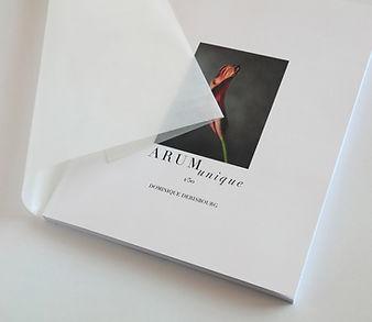 livre avec 50 images de fleur en tirage limité à un exemplaire, fine art sur papier Arches