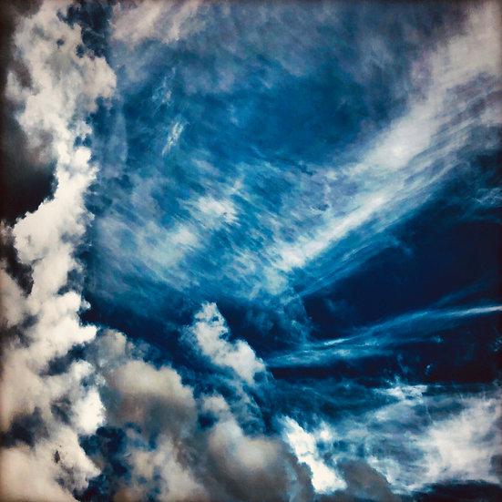 Ciel d'Aubrac - Format 40x50cm