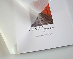 album photo de 50 images de Venise en tirage unique à un seul exemplaire