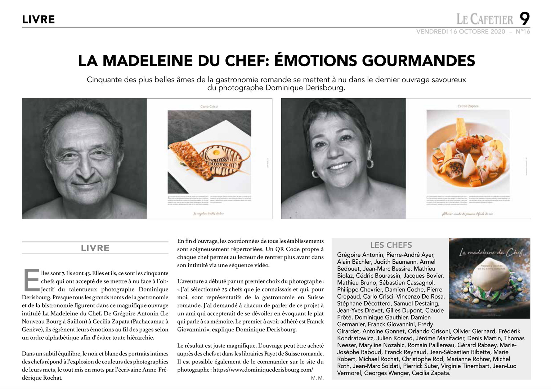 Le Cafetier Manuela Magnin