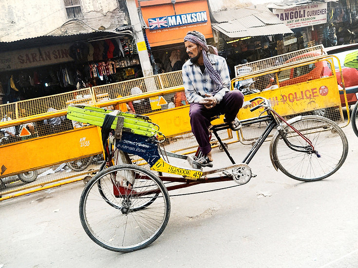 Inde tricycle