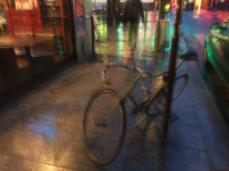 Paris vélo de travers