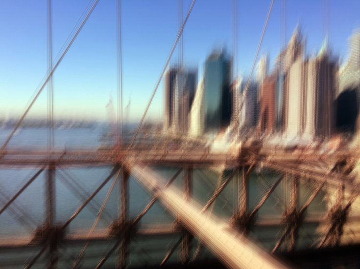New York Brooklyn bridge 11h