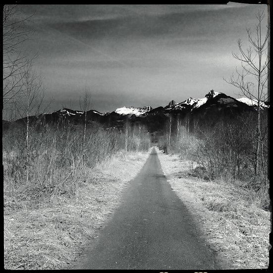 Cheminement - Format 40x50cm