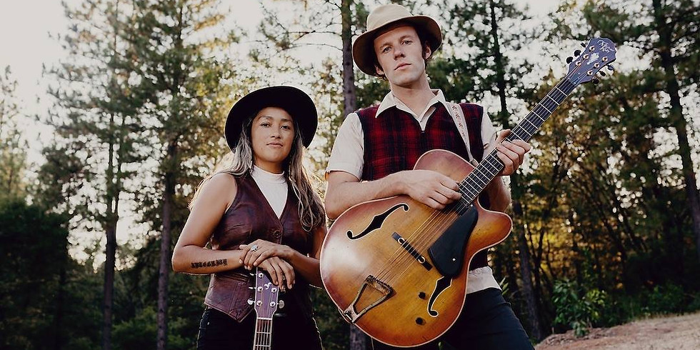Chonie Vargas and Farmer Josh