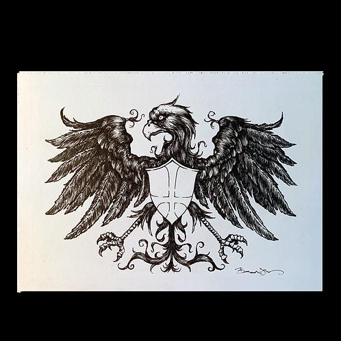 Original pen and ink drawing #6