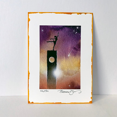 TRIP THE LIGHT FANTASTIC limited edition print