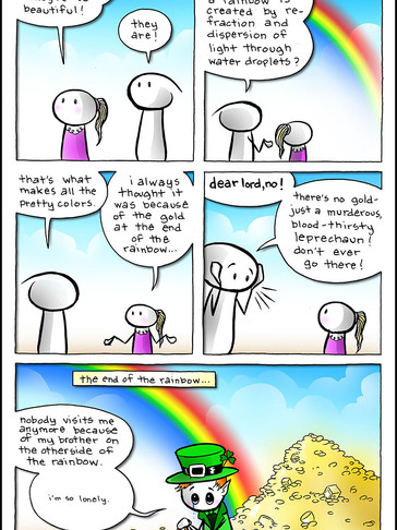 EPISODE 57: Remember the end of the rainbow, part 2?