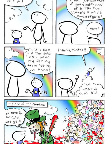 EPISODE 27: Remember the end of the rainbow?