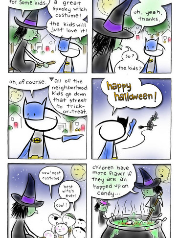 EPISODE 7: Remember that one halloween?