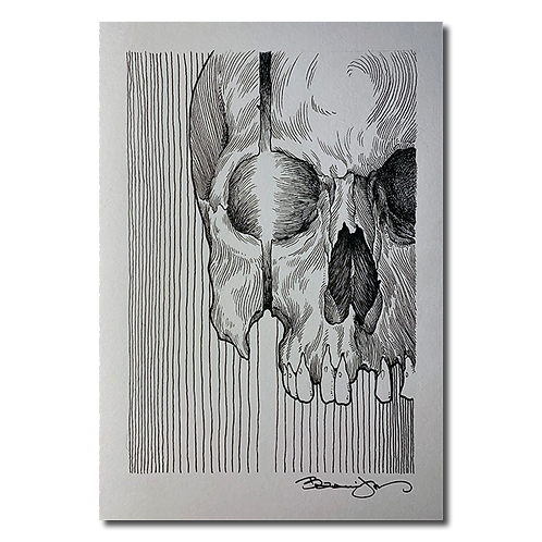 Original pen and ink drawing #3